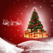 Christmas tree — Stock Photo #33942333