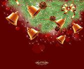 Magic Christmas Background — Stock Photo