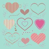 Alla hjärtans bak — Stockfoto