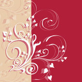 Ornament Flowers Design Elements ,illustration — Stock Photo