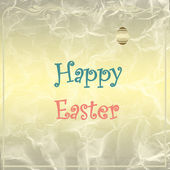 Easter gold  background — Stock Photo
