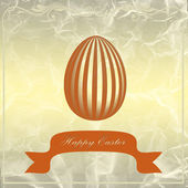 Golden Easter egg — Stock Photo