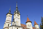 St. Nicholas Church Brasov ,Romania — Stock Photo