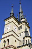 St. Nicholas Church Brasov ,Romania — Stock Photo