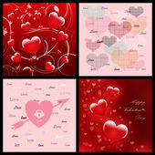 Abstract Romantic Valentine's day — Stock Photo
