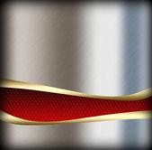 Stříbrný pozadí kovových textury — Stock fotografie