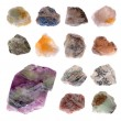 Mineral collection — Stock Photo #47535531