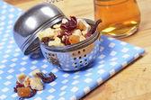 Tè asciutto con frutti — Foto Stock