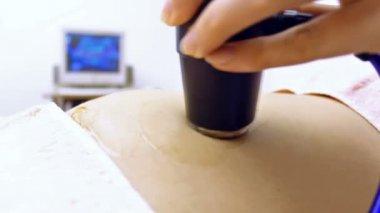 Ultrasonic testing — Stock Video