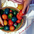 easter eggs — Stock Video