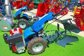 Blue plow — Stock Photo