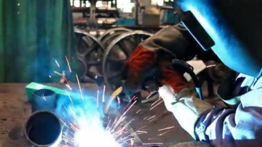 Plasma welding — Stock Video