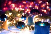 Decoração de ano novo — Fotografia Stock
