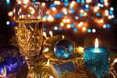 Novoroční výzdoba — Stock fotografie