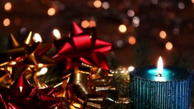 Christmas decoration — Video Stock
