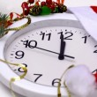 Stock Video: New Year clock