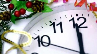 New Year's countdown — Stock Video