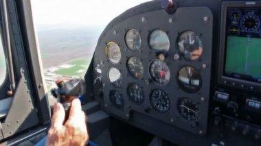 Uitzicht vanuit de cockpit — Stockvideo