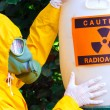 Постер, плакат: Radioactive waste