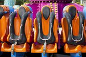 Safety Seats in Amusement Park — Stock Photo