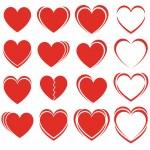 Set of hearts — Stock Vector #11492697