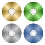 Compact discs — Stock Vector #11493602