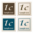 Postage stamps — Stock Vector #11494119