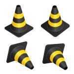 Traffic cones — Stock Vector #11495289