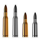 Weapon gun bullet cartridge — Stock Vector