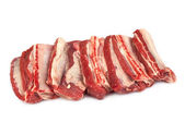 Raw beef ribs — Stock Photo