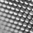 Stock Photo: Metal cover texture