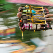 Постер, плакат: Motion Blur Of On Speedy Carnival Ride