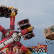Stock Photo: Enjoy Scary Carnival Ride At Fair
