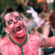 ������, ������: Zombie Makes Scary Face In Halloween Parade