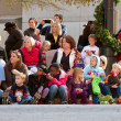 Spectators Watch Atlanta Christmas Parade — Lizenzfreies Foto