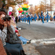 Spectators Watch Atlanta Christmas Parade — Stock Photo #25191337