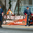 Stars Wars Rebel Legion Marches In Atlanta Christmas Parade - Stock Photo