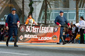 Stars Wars Rebel Legion Marches In Atlanta Christmas Parade — Stock Photo