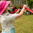 Ribbon Cutting Opens Spring Festival — Stockfoto #26221147