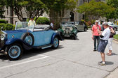 Admire Rolls Royce Cars On Display At Festival — Stock Photo