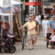Stock Photo: Walk, Look And Shop At Summer Arts Festival