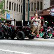Vehicle From Road Warrior Movie Moves Through Dragon Con Parade — Stock Photo #35995995