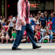Bloody Zombie Doctor Walks In AtlantDragon Con Parade — Stock Photo #35996273