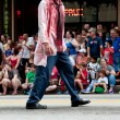 Bloody Zombie Doctor Walks In Atlanta Dragon Con Parade — Stock Photo