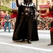 Постер, плакат: Darth Vader Character Walks In Atlanta Dragon Con Parade