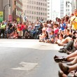 Huge Crowd Lines AtlantStreet At Dragon Con Parade — Stock Photo #35996905