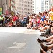 Stock Photo: Huge Crowd Lines AtlantStreet At Dragon Con Parade