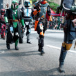 Star Wars MandaloriMercenaries Walk In AtlantDragon Con Parade — Stock Photo #35998179