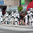 Star Wars Storm Troopers Walk In AtlantDragon Con Parade — Stock Photo #35998237