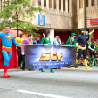 SupermWalks In AtlantDragon Con Parade — Stock Photo #36312355